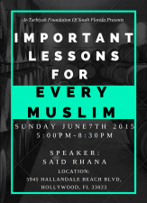 At- Tarbiyah Foundation Seminar 1`