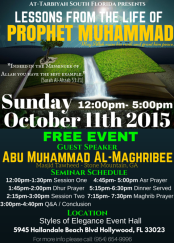 LESSONS FROM THE LIFE OF Prophet Muhammad